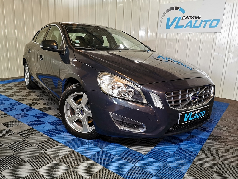 Volvo S60 DRIVE 115CH START&STOP MOMENTUM Diesel GRIS F Occasion à vendre
